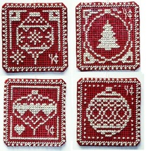 White Christmas 4 cent Holiday Stamps cross sti... - $5.00
