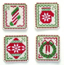 Christmas Stamps 2 cent Holiday Stamps cross stitch chart Handblessings - $5.00