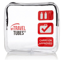 MyTravelTubes - TSA Approved 3-1-1 Airline Carry On Clear Travel Toiletr... - £9.30 GBP