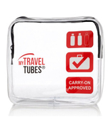 MyTravelTubes - TSA Approved 3-1-1 Airline Carry On Clear Travel Toiletr... - £9.24 GBP