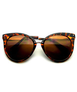 Pointed Horn Rimmed Indie Retro Cat Eye Sunglasses Metal Studs - $8.50