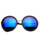 Retro Fashion Super Round Mirrored Sunglasses - $8.50