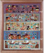 BUNDLE A New World Series Parts 1-5 cross stitch charts Barbara Ana Designs - $45.00