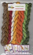 SILK FLOSS PACK for Autumn Aromas cross stitch chart Dinky Dyes - $36.45