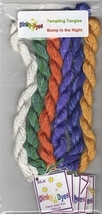 SILK FLOSS PACK for Bump In The Night cross stitch chart Dinky Dyes - $28.50