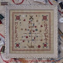 Reels Christmas Tree cross stitch chart Filigram - $9.90