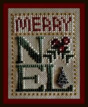 Merry Noel Love Bits cross stitch chart Hinzeit - $6.00