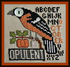 Opulent October - Birds Eye series cross stitch chart Hinzeit - $10.80