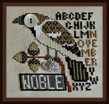 Noble November - Birds Eye series cross stitch chart Hinzeit - $10.80