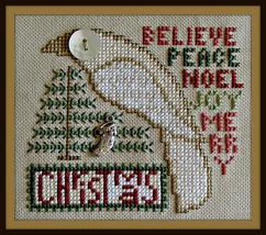 Christmas - Birds Eye series cross stitch chart Hinzeit - $10.80