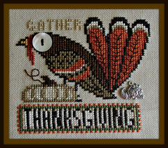 Thanksgiving - Birds Eye series cross stitch chart Hinzeit - $10.80