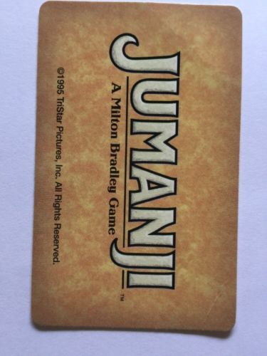 Jumanji Game Danger Card ONLY Raft Crocodile and 50 similar