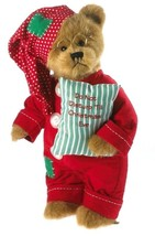 "Boyds Bears ""Snoozy St. Nick""  14"" Plush Bear- #4034009- New- 2013- Retired - $59.99"