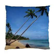 Pillow case Throw Pillow Cushion Cover Photo Beach Sea ocean palm tree LDumas - $24.99+