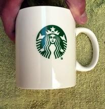Starbucks Coffee ceramic Mug 12 Oz 2016 Official Issue Green Siren Mermaid - $6.92