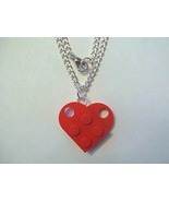 BrickCrafts LEGO® Fashion Heart Pendant Necklace - $10.95
