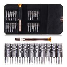 25 in 1 Precision Screwdriver Wallet Set Repair Tools for Electronics PC - $229,37 MXN
