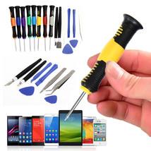 Professional 16 in 1 Mobile Phone Repair Tools Screwdrivers Set Kit For ... - $291,24 MXN