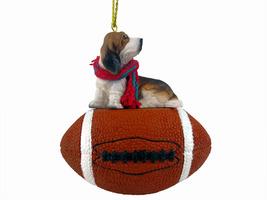 Basset Hound Football Ornament - $17.99