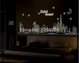 Dubai City Of Gold Glow In The Dark Bedroom Sof... - $17.48