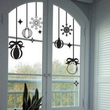White snowflake Christmas decoration wall stick... - $19.91