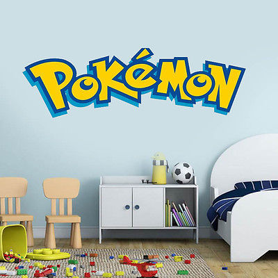 Pokemon Wall Stickers for Kids Rooms Home Decorations ...