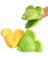 1PCS Kitchen Cooking Mouse Style Insulated Non-slip Baking Gloves Microw... - £7.71 GBP
