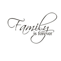 Family DIY Removable Art Vinyl Quote Wall Stick... - $10.74