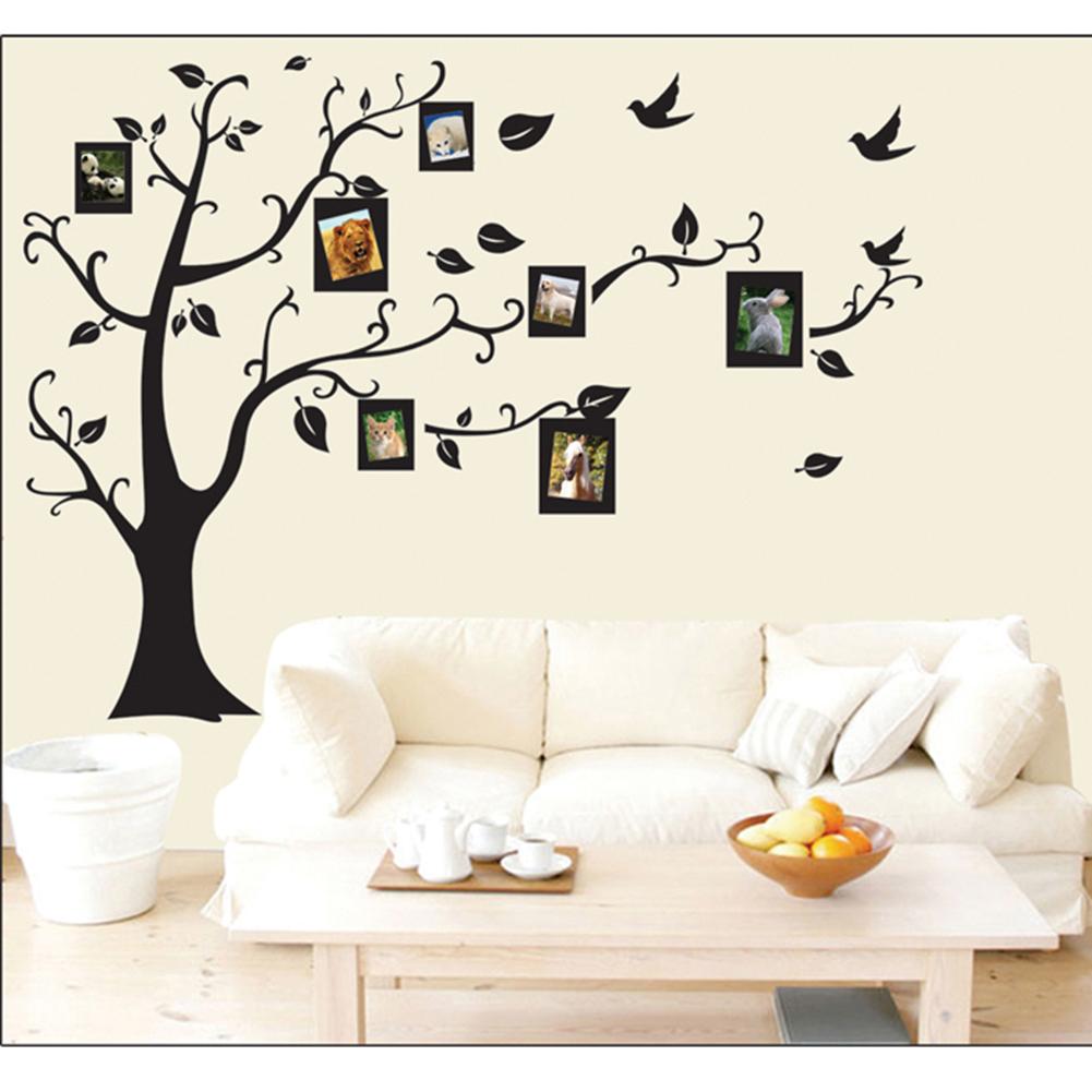 Fasion Tree Photo Frame Wall Decor Room Sticker Vinyl ...