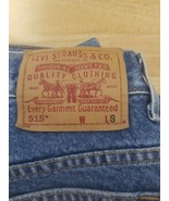 Levis 515 Women's Jeans 12 Short 30 x 30 Medium Wash Faded Distressed Bo... - $21.10