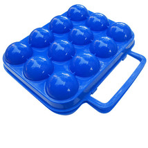 2pcs Outdoor Picnic Folding 12Egg Storage Tray Container Box - $25.44