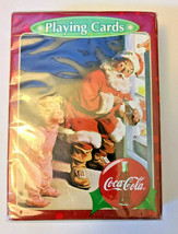 Santa Claus Coca~Cola Deck of Playing Cards   (#011)