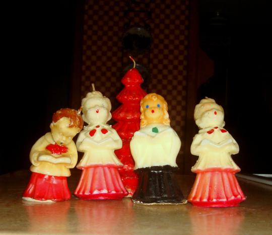 92 Best Chór świąteczny Choir Christmas Images On: Vintage Lot Of GURLEY Saucony Vacuum Oil Christmas Tree