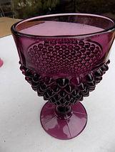 Vintage Indiana Purple Glass Diamond Point Amet... - $31.68