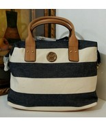 NWT Tommy Hilfiger Ali Woven Rugby Weekender - $79.99