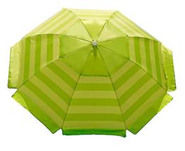 Nautica Beach Umbrella, Lime - $39.94
