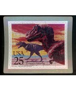 USPS POSTCARD - Dinosaurs Commeorative Puzzle series - TYRANNOSAURUS - F... - £8.02 GBP