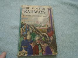 Vintage 1961 Ladybird Book The Story Of Railways Series 601 - $8.96