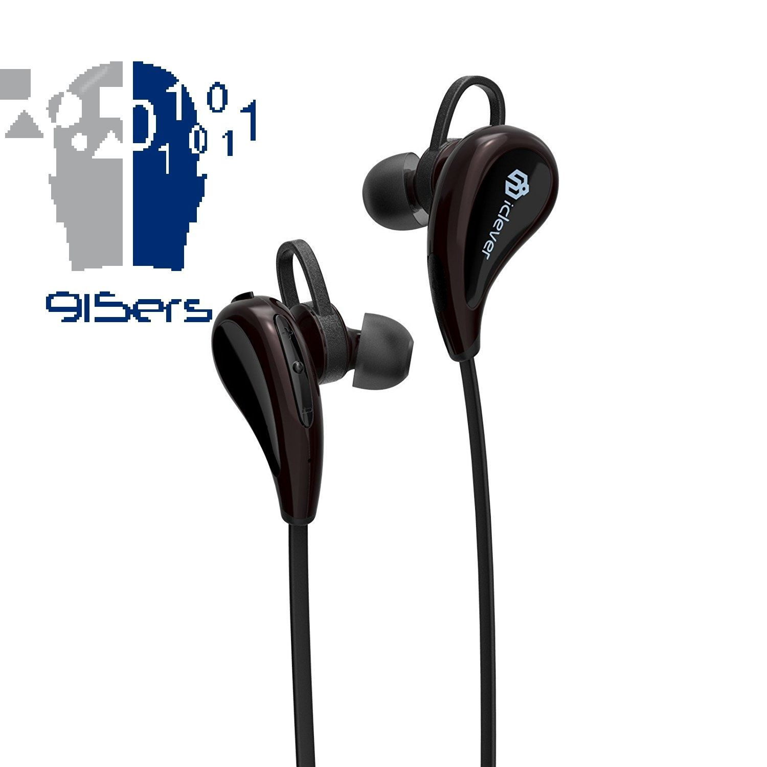 Perfect for Exerise iClever Durable Bluetooth Headphones, V4.1, Pairing...