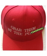 MAKE AMERICA GREAT AGAIN Parody HAT Donald Trump EMBROIDERED Grab Them By The P - $14.83