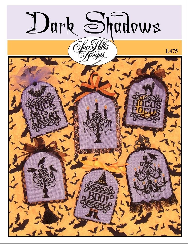 Dark Shadows halloween cross stitch chart Sue Hillis Designs  - $9.00