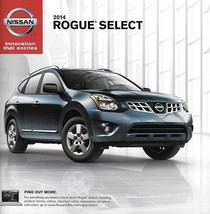 2014 Nissan ROGUE SELECT sales brochure catalog sheet US 14 S - $8.00