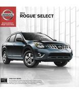 2014 Nissan ROGUE SELECT sales brochure catalog sheet US 14 S - $8.00