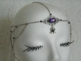 Gothic Spider Circlet, medieval renaissance got... - $42.00