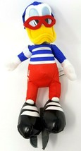 "Disney Store Donald Duck USA Speed Skater 9"" Plush Stuffed Animal - $3.99"