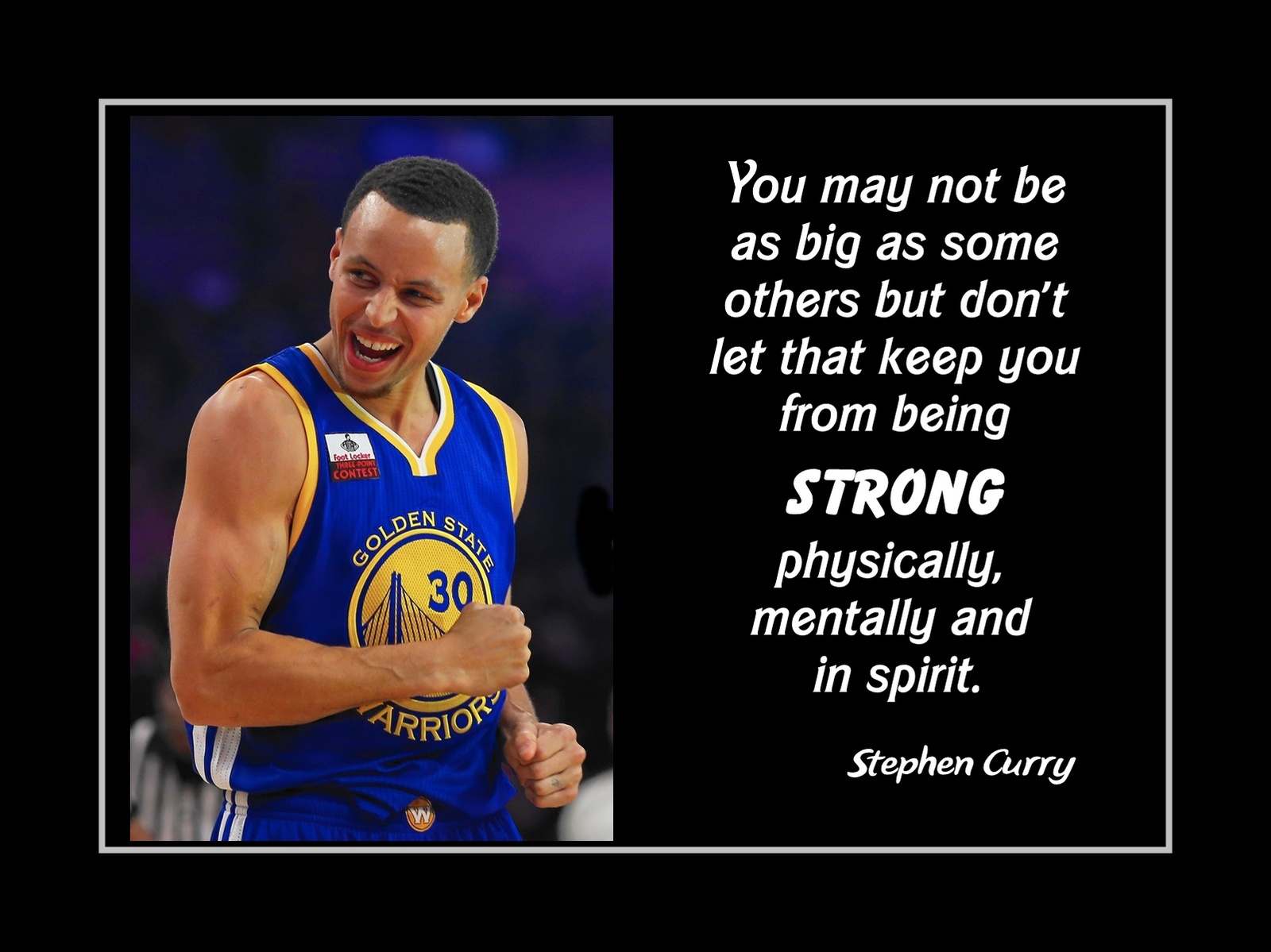 Basketball Motivation Quote Poster Stephen And 50 Similar Items