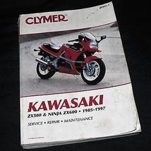 KAWASAKI ZX500 / NINJA ZX600 1985-1997. Clymer Service Repair Maintenance Good - $15.83