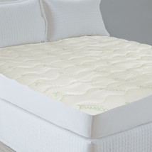 Essence of Bamboo Knit Bedroom Fitted Mattress Pad Twin, Full, Queen, King - $38.65+