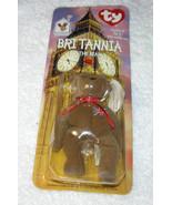 New TY Teeny Beanie Baby Britannia The Bear 1999 Free Shipping U.S.A. - $11.94