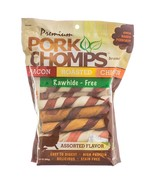 Premium Pork Chomps Pork Twist Bacon Roasted Ch... - $28.38